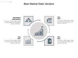 Best Market Data Vendors Ppt Powerpoint Presentation Gallery Icon Cpb