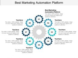 Best Marketing Automation Platform Ppt Powerpoint Presentation Professional Format Ideas Cpb