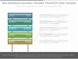 Best Marketing Automation Template Powerpoint Slide Template