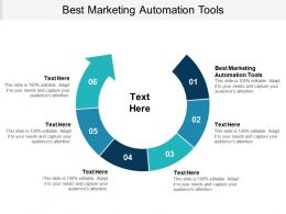 Best Marketing Automation Tools Ppt Powerpoint Presentation Gallery Outline Cpb