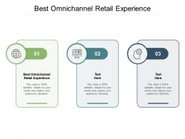 Best Omnichannel Retail Experience Ppt Powerpoint Presentation Model Cpb