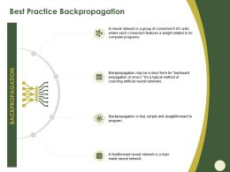 Best Practice Backpropagation Of Errors Ppt Powerpoint Presentation Show Background