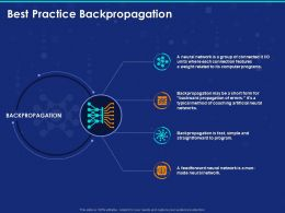 Best Practice Backpropagation Ppt Powerpoint Presentation Visual Aids
