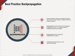Best Practice Backpropagation Propagation Ppt Powerpoint Presentation File Visual Aids