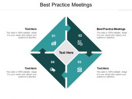 Best Practice Meetings Ppt Powerpoint Presentation Pictures Show Cpb