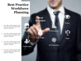 Best Practice Workforce Planning