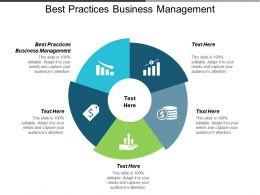 Best Practices Business Management Ppt Powerpoint Presentation Inspiration Portrait Cpb