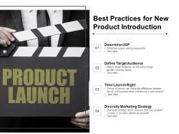 Best Practices For New Product Introduction