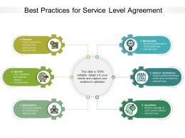 Best Practices For Service Level Agreement