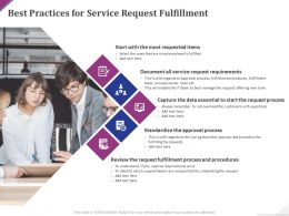Best Practices For Service Request Fulfillment Ppt Powerpoint Presentation Styles