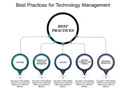 Best Practices For Technology Management