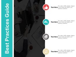 Best Practices Guide Ppt Powerpoint Presentation Layouts Skills Cpb