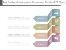 Best Practices In New Product Development Template Ppt Slides