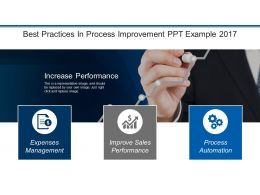 Best Practices In Process Improvement Ppt Example 2017
