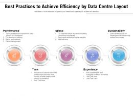 Best Practices To Achieve Efficiency By Data Centre Layout
