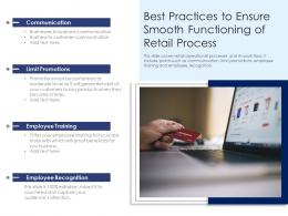 Best Practices To Ensure Smooth Functioning Of Retail Process