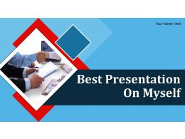 Best Presentation On Myself Powerpoint Presentation Slide
