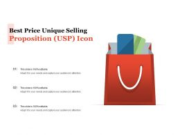 Best Price Unique Selling Proposition USP Icon