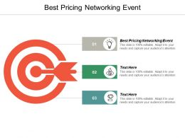 Best Pricing Networking Event Ppt Powerpoint Presentation Pictures Guidelines Cpb