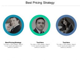 Best Pricing Strategy Ppt Powerpoint Presentation File Structure Cpb