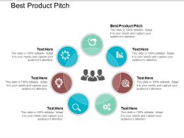 Best Product Pitch Ppt Powerpoint Presentation Summary Cpb