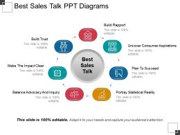 Best Sales Talk Ppt Diagrams