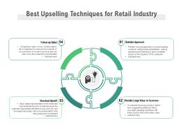 Best Upselling Techniques For Retail Industry