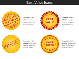Best Value Icons