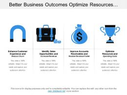 Better Business Outcomes Optimize Resources And Identify Sales Opportunities