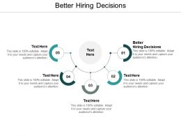 Better Hiring Decisions Ppt Powerpoint Presentation File Guide Cpb
