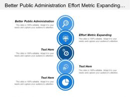 Better Public Administration Effort Metric Expanding Profession Maturing