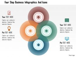 Bf Four Step Business Infographics And Icons Powerpoint Templets