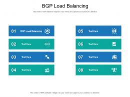 BGP Load Balancing Ppt Powerpoint Presentation Slides Good Cpb