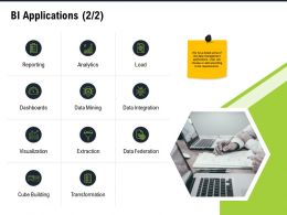 BI Applications Extraction M2793 Ppt Powerpoint Presentation Model Gallery