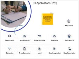 BI Applications L2110 Ppt Powerpoint Presentation Icon Slide