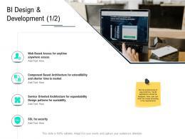 BI Design And Development Market Data Integration Ppt Powerpoint Presentation Ideas Vector