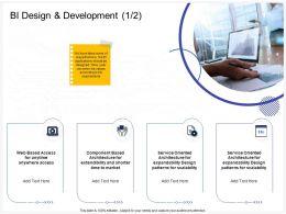 BI Design And Development Shorter Ppt Powerpoint Presentation Ideas Inspiration