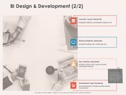 BI Design And Development Standards Ppt Powerpoint Presentation Example