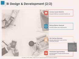 BI Design And Development Visualization Ppt Powerpoint Presentation Deck