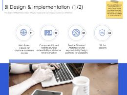BI Design And Implementation Shorter Ppt Powerpoint Presentation Inspiration Shapes