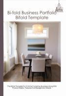Bi Fold Business Portfolio Document Report PDF PPT Template