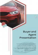 Bi Fold Buyer And Agent Presentation Document Report PDF PPT Template