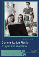 Bi Fold Communication Plan For Project Collaboration Document Report PDF PPT Template
