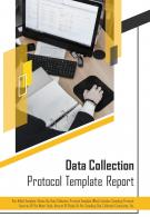 Bi Fold Data Collection Protocol Document Report PDF PPT Template
