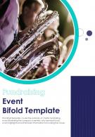 Bi Fold Fundraising Event Document Report PDF PPT Template