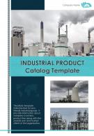 Bi Fold Industrial Product Catalog Document Report PDF PPT Template One Pager