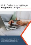 Bi Fold Online Banking Login Infographic Design Document Report PDF PPT Template