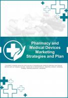 Bi Fold Pharmacy And Medical Devices Marketing Strategies And Plan Document Report PDF PPT Template