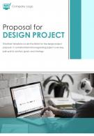 Bi Fold Proposal For Design Project Document Report PDF PPT Template