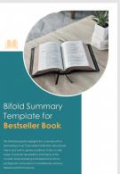 Bi Fold Summary For Bestseller Book Document Report PDF PPT Template